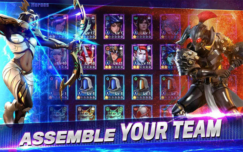 Crystalborne Heroes of Fate - Assemble Your Team