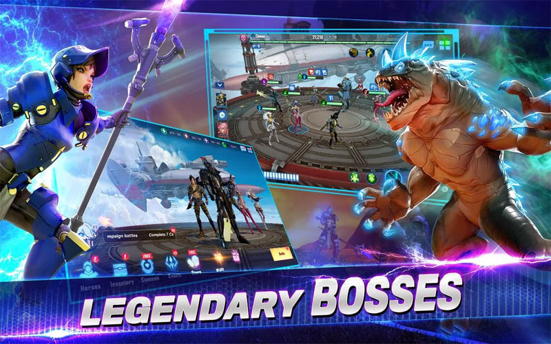 Crystalborne Heroes of Fate - Legendary Bosses