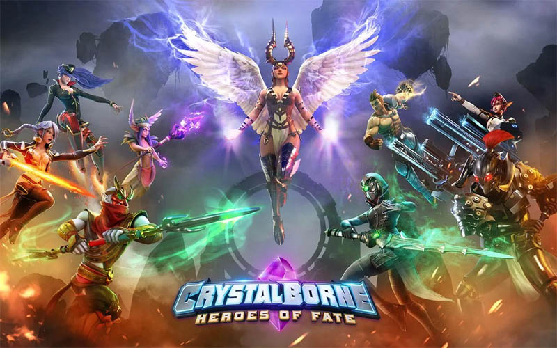 Crystalborne Heroes of Fate
