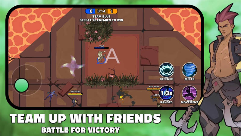 Element Arena - Team Up With Friends Battle For Victory