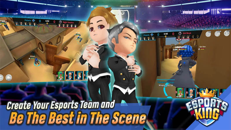 Esports King - Create Your Esports Team and Be The Best in The Scene