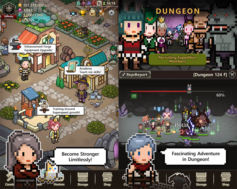 Evil Hunter Tycoon - Become Stronger Limitlessly Fascinating Adventure in Dungeon