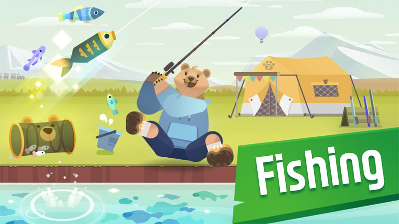 FisherBear Noah Idle Fishing - Fishing