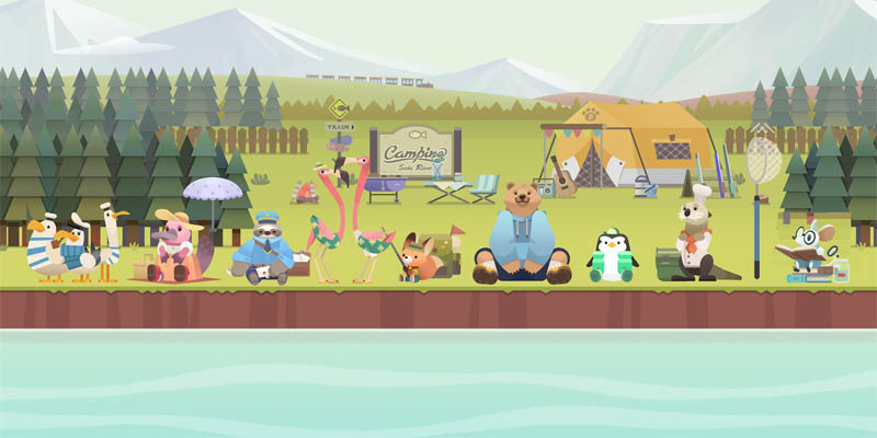 FisherBear Noah Idle Fishing - Screenshot 1