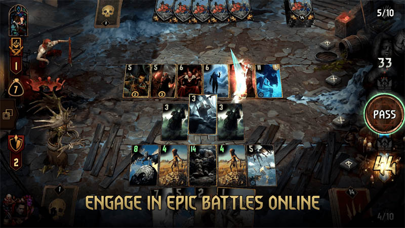 GWENT The Witcher Card Game - Engage in Epic Battles Online