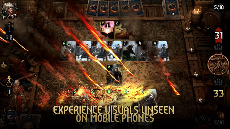 GWENT The Witcher Card Game - Experience Visuals Unseen On Mobile Phones