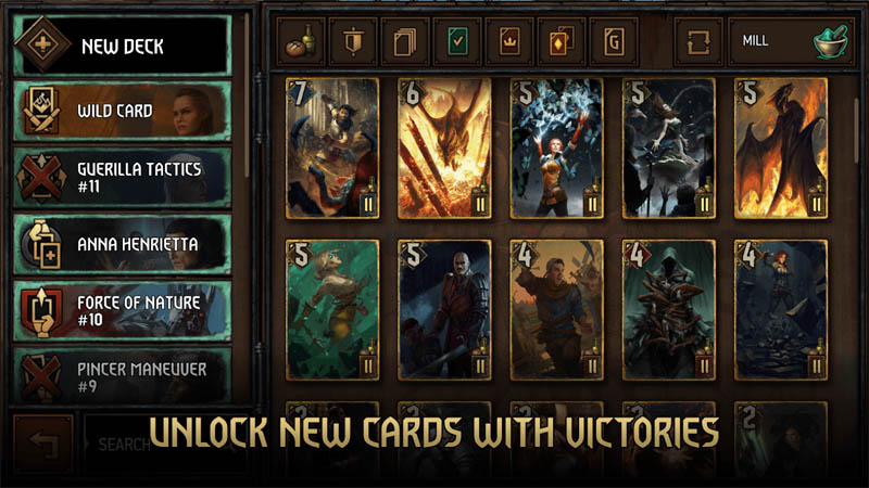 GWENT The Witcher Card Game - Unlock New Cards With Victories