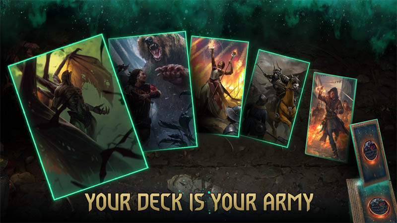 GWENT The Witcher Card Game - Your Deck is Your Army