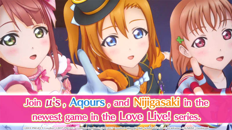 Love Live All Stars - Join us Aqours Nijigasaki in the newest game Love Live series