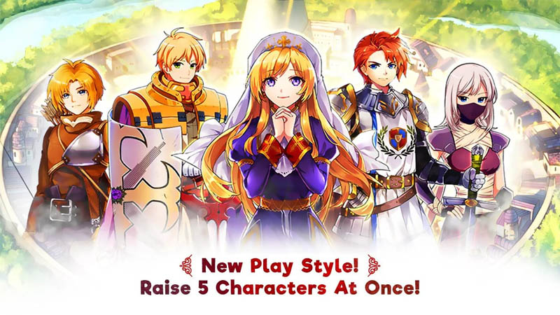 Ragnarok Frontier - New Play Style Raise 5 Characters At Once
