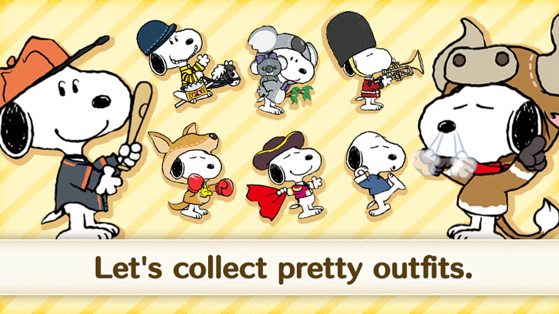 SNOOPY Puzzle Journey - Let s collect pretty outfits