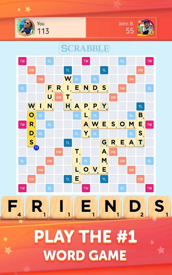 Scrabble Go - Play the no 1 Word Game