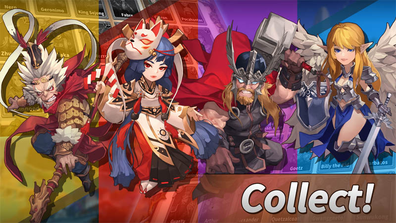 WITH HEROES Incredible World - Collect