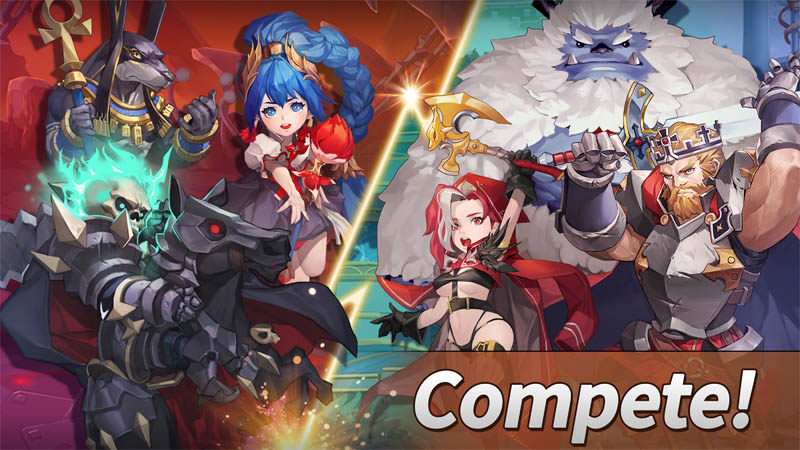 WITH HEROES Incredible World - Compete