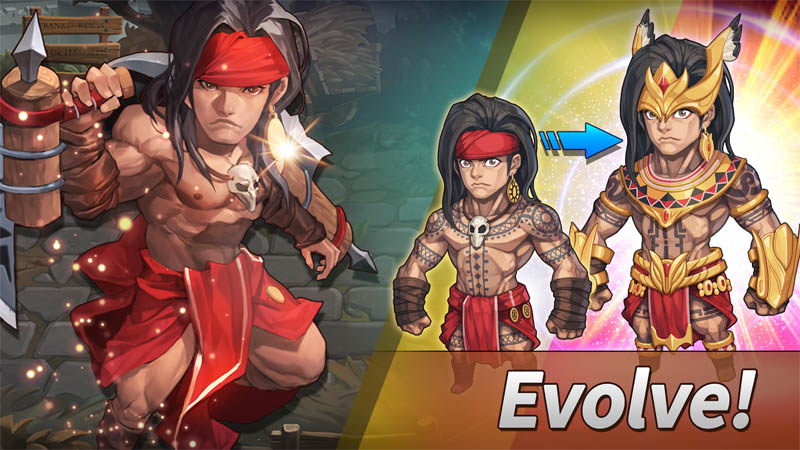 WITH HEROES Incredible World - Evolve