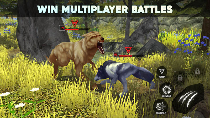 Wolf Tales - Win Multiplayer Battles
