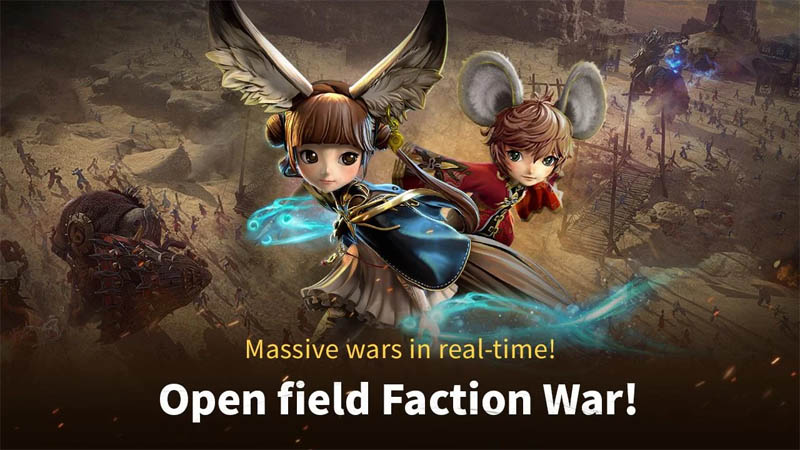 Blade and Soul REVOLUTION - Massive wars in real time Open Field Faction War