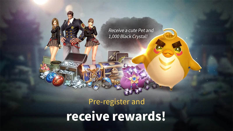 Blade and Soul REVOLUTION - Pra-registrasi dan terima hadiah