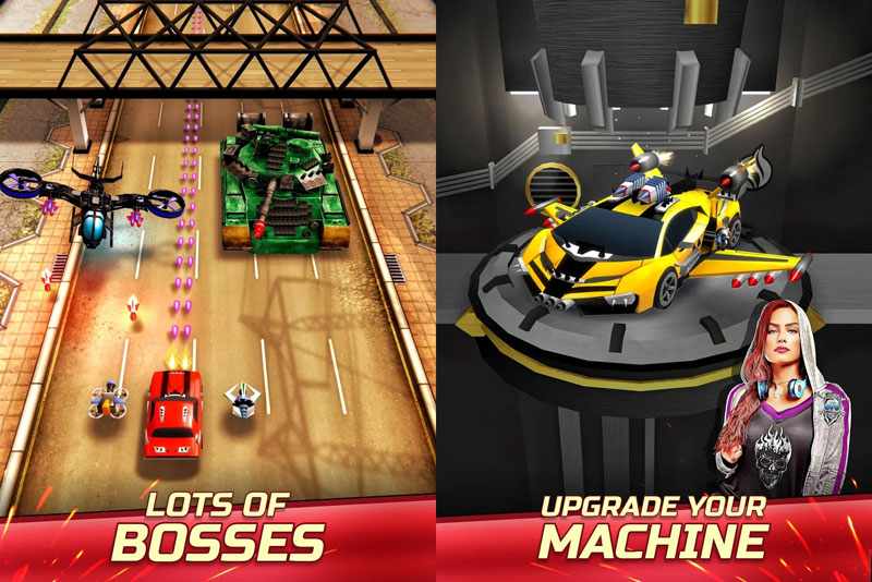 Chaos Road Combat Racing - Lots of Bosses Upgrade Your Machine