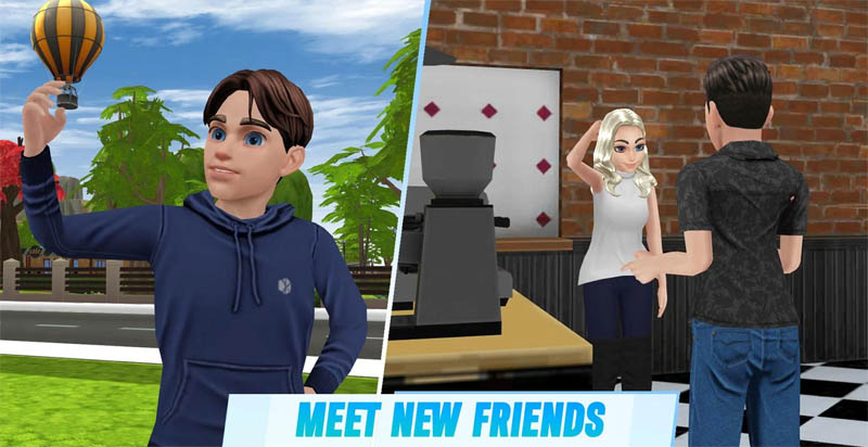 Dream Life - Meet New Friends