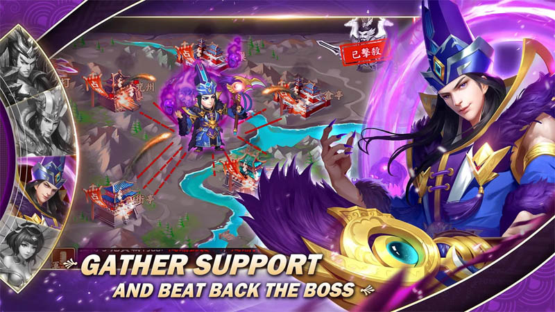 Dynasty Heroes - Gather Support And Beat Back The Boss