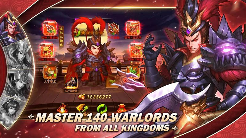 Dynasty Heroes - Master 140 Warlords From All Kingdoms