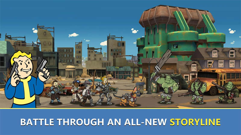 Fallout Shelter Online - Battle Through An All New Storyline