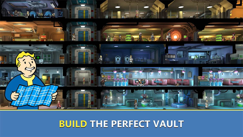 Fallout Shelter Online - Build The Perfect Vault