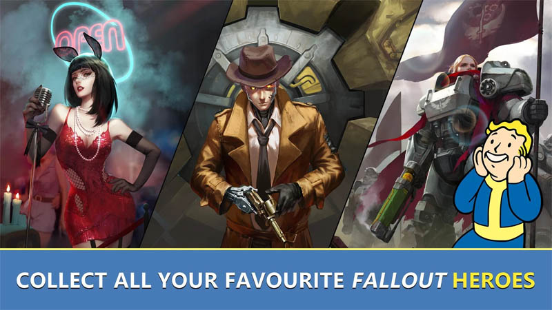 Fallout Shelter Online - Collect All Your Favourite Fallout Heroes