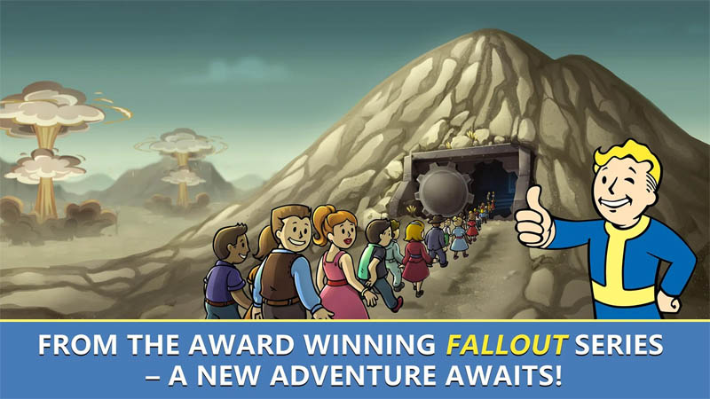 Fallout Shelter Online - From the award winning Fallout series - A new adventure awaits