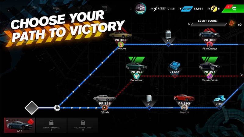 Forza Street - Choose Your Path To Victory