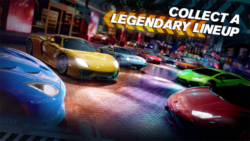 Forza Street - Collect Legendary Lineup