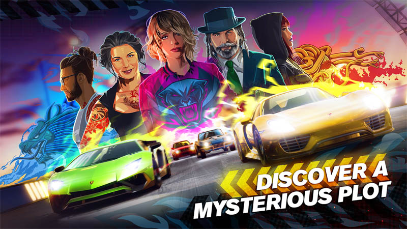 Forza Street - Discover A Mysterious Plot