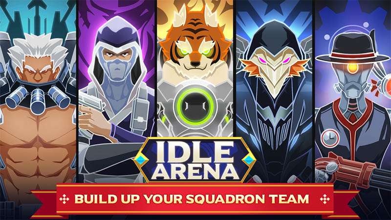 Idle Arena - Build Up Your Squadron Team