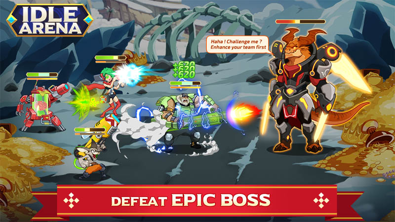 Idle Arena - Defeat Epic Boss