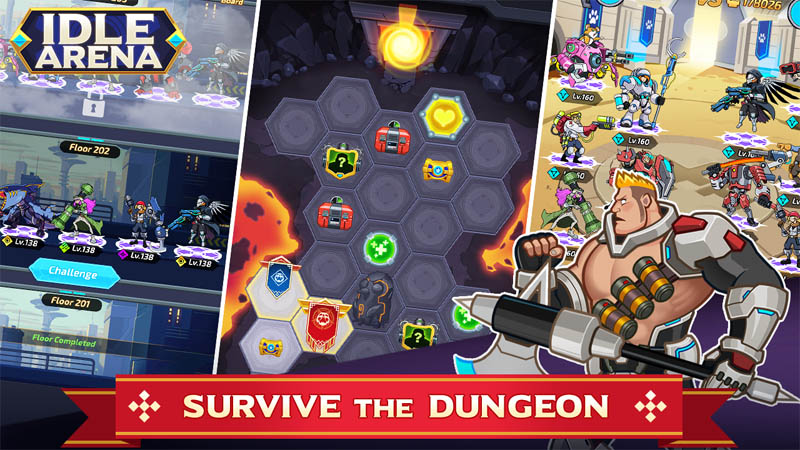Idle Arena - Survive The Dungeon