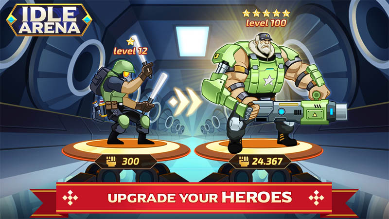 Idle Arena - Upgrade Your Heroes