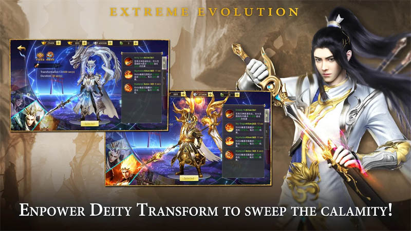 Immortal Destiny - Empower Deity Transform To Sweep The Calamity