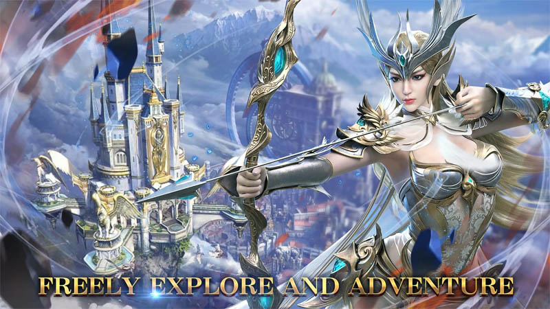 Land of Angel - Freely Explore And Adventure