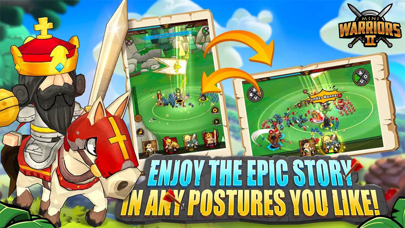 Mini Warriors 2 - Enjoy The Epic Story In Any Postures You Like