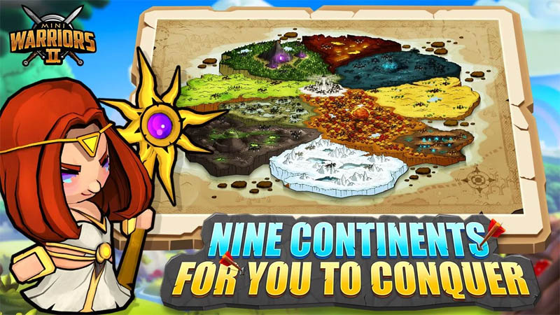 Mini Warriors 2 - Nine Continents For You To Conquer