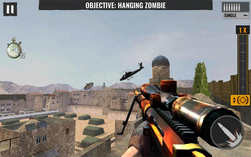 Sniper Zombies - Objective Hanging Zombie