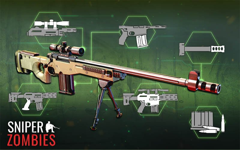 Sniper Zombies - Rifles