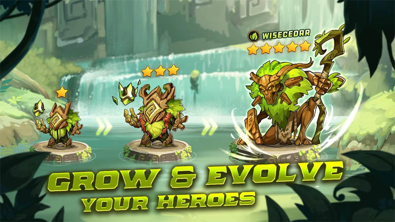 Summoners Era - Grow and Evolve Your Heroes