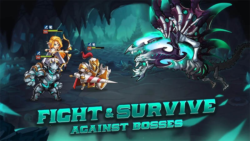 Summoners Era - Fight and Survive Against Bosses