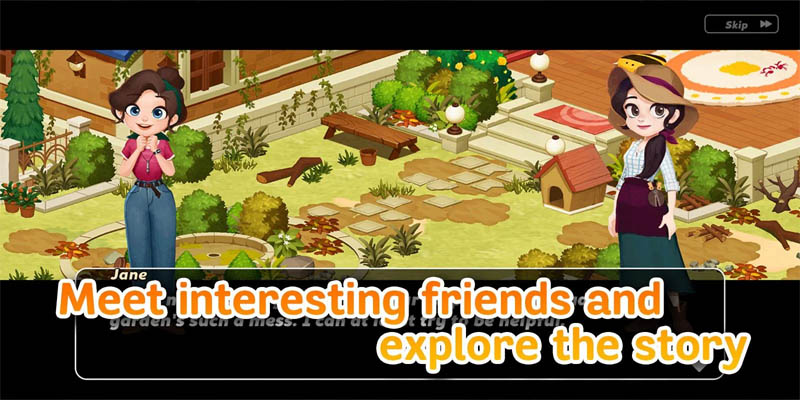 Hellopet House - Meet interesting friends and explore the story
