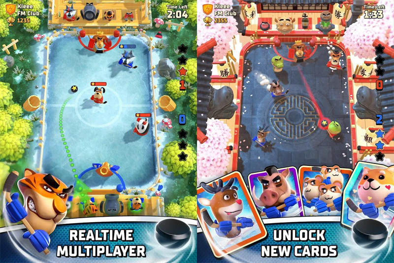 Rumble Hockey - Realtime Multiplayer Unlock New Cards