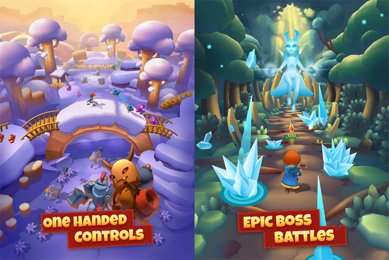 Bow Land - One handed controls Epic Boss battles