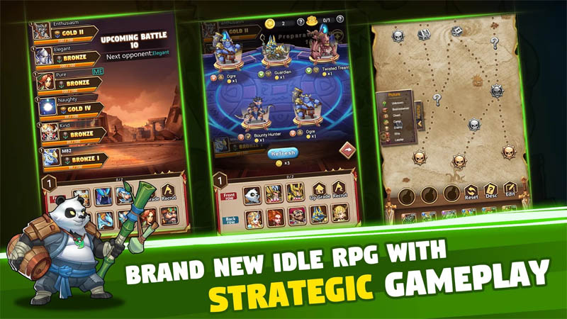 Brave Dungeon - Brand New Idle RPG With Strategic Gameplay