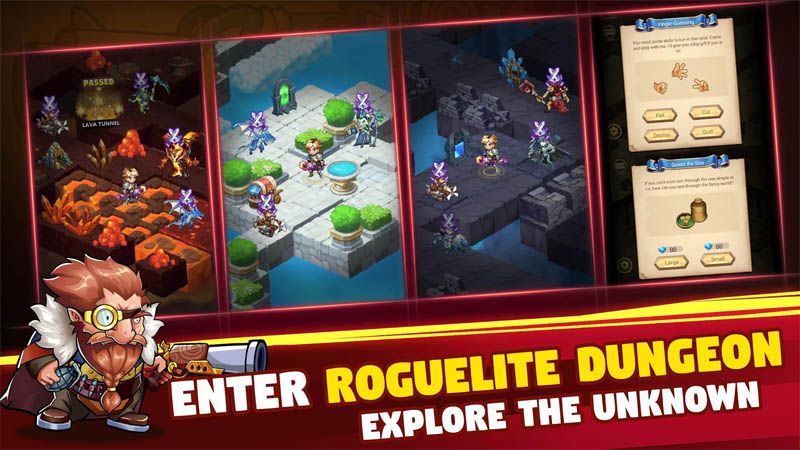 Brave Dungeon - Enter Roguelite Dungeon
